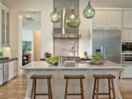 kitchen green pendant lights clear glass pendant light over the
