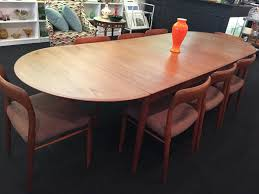 niels otto møller danish teak dining table u0026 model 75 chairs u2013 the