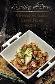 poulpe cuisine salade de poulpe au gingembre la cuisine de doria