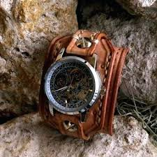 mens bracelet wrist watches images Mens leather cuff watches leather wrist watch watch leather cuff jpg