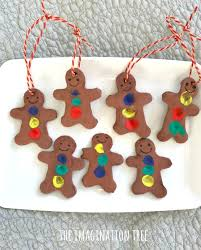 finger print gingerbread ornaments the imagination tree