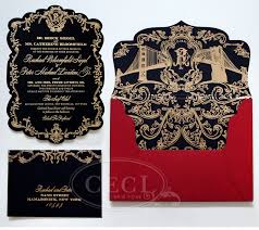 10 breathtaking red and gold wedding invitations to inspire you