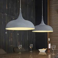 Esszimmer Lampe Beton Industrie Pendelleuchte Alicudy Aus Metall Pharao24 De