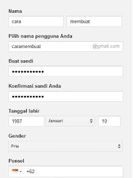membuat email baru gmail daftar email gmail buat akun gmail baru di google indonesia cara