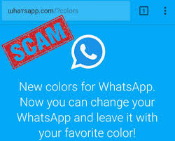 Favorite Colors This Fake Whatsapp Update Scam