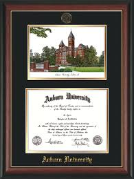 auburn diploma frame auburn univ diploma frame gold lip seal watercolor black