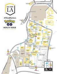 csudh map pokémon go health walk california state los angeles