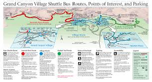 grand map pdf grand shuttle map grand canyonn national park az us