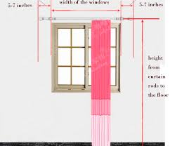 where to hang curtains how to hang curtains