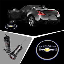 chrysler logo 3d laser car door lamp led ghost shadow car logo light for chrysler
