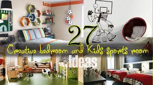 creative kids sports room ideas youtube