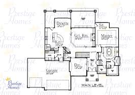 3 Bedroom Plan Prestige Homes Floor Plans
