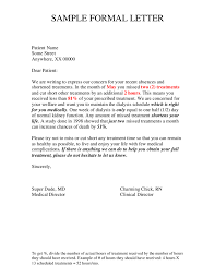 Resume Cover Letter Format Sample by Official Letter Format How To Write An Official Letter