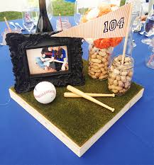 baseball centerpieces baseball wedding archives design intervention diary