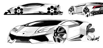 lamborghini huracan sketch the bugatti chiron could have looked like this autoevolution