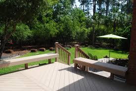 Deck In The Backyard Columbia Sc Composite Decks Custom Decks Porches Patios