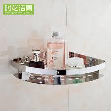 Hanging Bathroom Shelves by Sus304 Stainless Steel Bathroom Shelf Corner Shelf Tripod Single