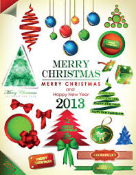 christmas poster vector illustration free vector in encapsulated