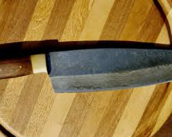 high carbon kitchen knives chef knife etsy