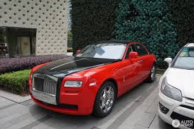 roll royce red rolls royce ghost ewb 10 august 2016 autogespot
