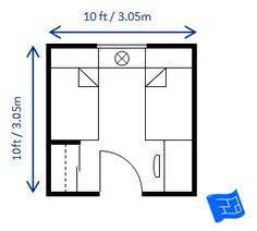 Bedroom Size Requirements Small Bedroom Design For A Single Bed 6 5ft X 9ft This Room Is