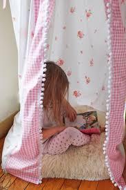 corner play tent bed canopy banner kumari garden nursery bed canopy play tent kids reading nook hanging corner vintage sheet pink shabby chic girls room