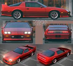 1988 chevrolet camaro iroc z chevrolet camaro iroc z concept 1988 smcars car