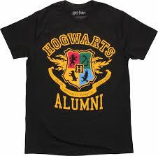 hogwarts alumni tshirt harry potter hogwarts alumni crest t shirt