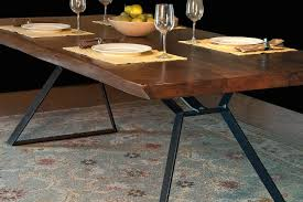 home trends design london loft dining table in walnut london loft gage furniture