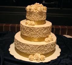 buttercream wedding cake decorating ideas gold wedding cakes from
