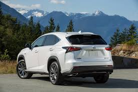 lexus crossover 2015 lexus nx luxury crossover offers turbo or hybrid with plenty of