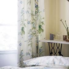 Floral Lined Curtains Sanderson Tournier Floral Print Curtains Bedroom Curtains