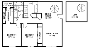 Floor Plans With Loft 1 2 3 Bedroom Apartments For Rent In South Bend In Castle