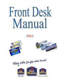 front desk manual by trykpartner issuu