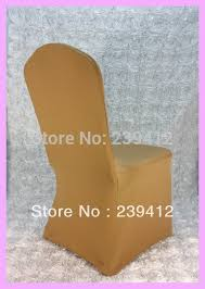 Gold Spandex Chair Covers 1pcs Gold Lycra Wedding Chair Cover Arch Front Spandex Chair