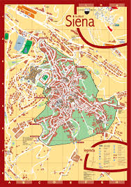 Italy On The Map by Siena Tourist Map Siena Italy U2022 Mappery Wanderlust Pinterest