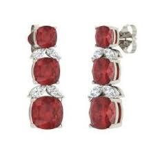 Red Chandelier Earrings Chandelier Earrings For Women Diamondere
