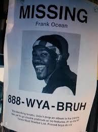 Frank Ocean Meme - missing frank ocean frank ocean know your meme