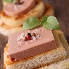 canape de recette canapé de foie gras aux raisins