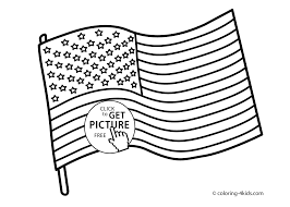 Printable Flags Usa Flag Coloring Pages Usa Independence Day Coloring Pages For