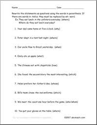 worksheet change to wh questions esl abcteach
