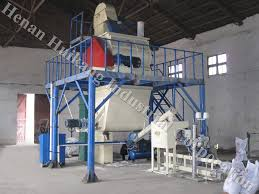 the color power paint twin shafts mixer wall putty mixing machine