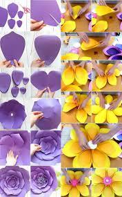 cara membuat bunga dengan kertas hias buat sendiri hiasan dinding dari kertas rumah dan gaya hidup