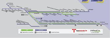 Dart Train Map Image Gallery Irish Rail Annual Tickets