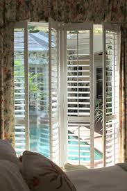 Plantation Shutters On Sliding Patio Doors by Furniture How To Set The Plantation Shutter For Sliding Glass