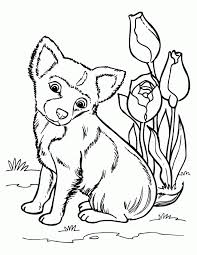 cute german shepherd puppy coloring pages kids coloring