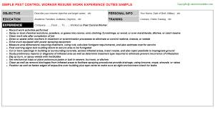 quality assurance technician resume