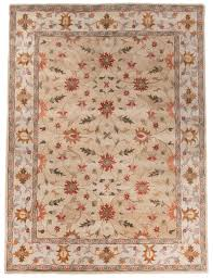 beautiful traditional persian wool area rug 8x10 handmade beige