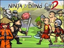 Blind Ninja Play Ninja Games Online Act Like A Ninja Play Like A Ninja Y8