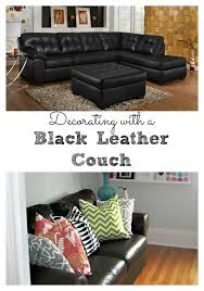 Living Room Decorating Ideas With Black Leather Furniture Living Room Decorating Ideas Black Leather Living Rooms